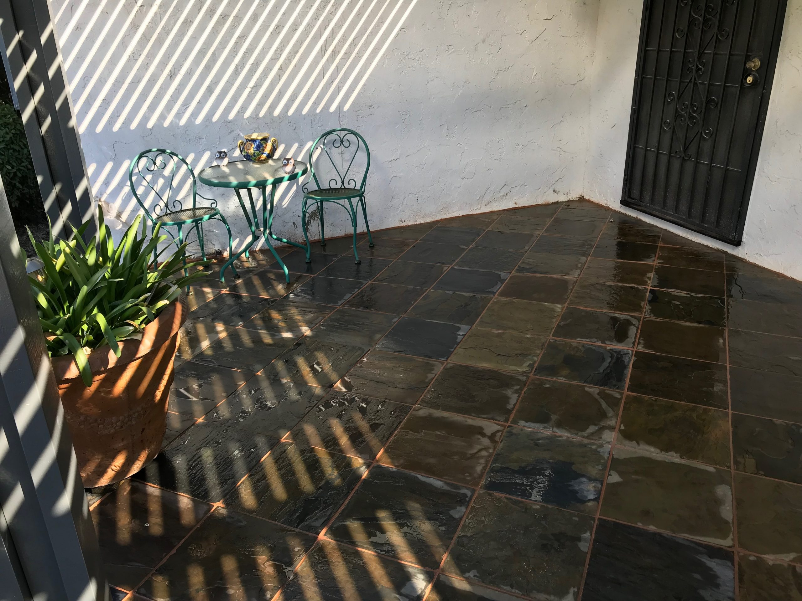 this image shows decorative concrete in fremont by fremont concrete pros