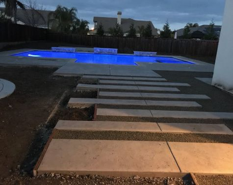 this is a picture of Fremont Pool Deck
