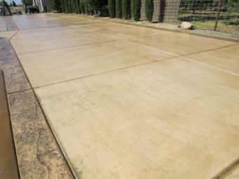 Driveway works in Milpitas, Fremont.