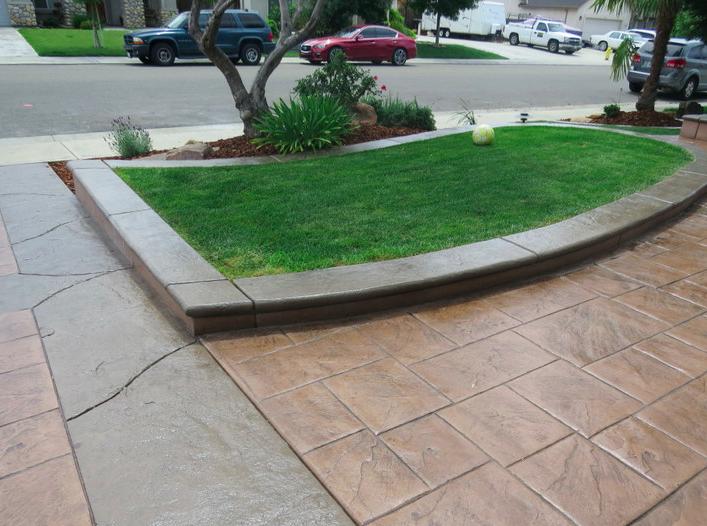 this image of concrete driveway fremont ca
