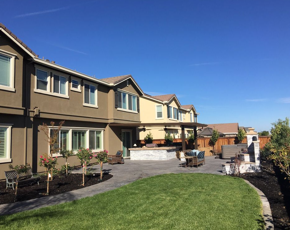 this is an image of turf installation in Fremont