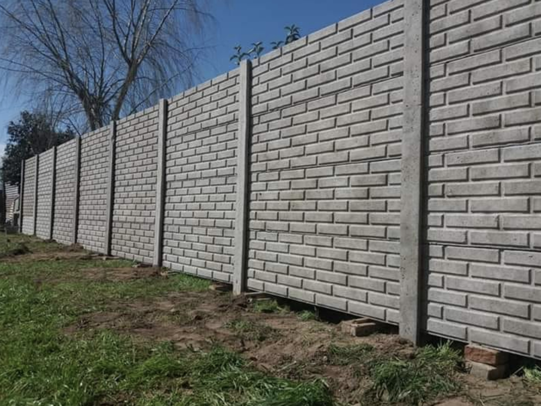 this image shows block wall in Fremont, California