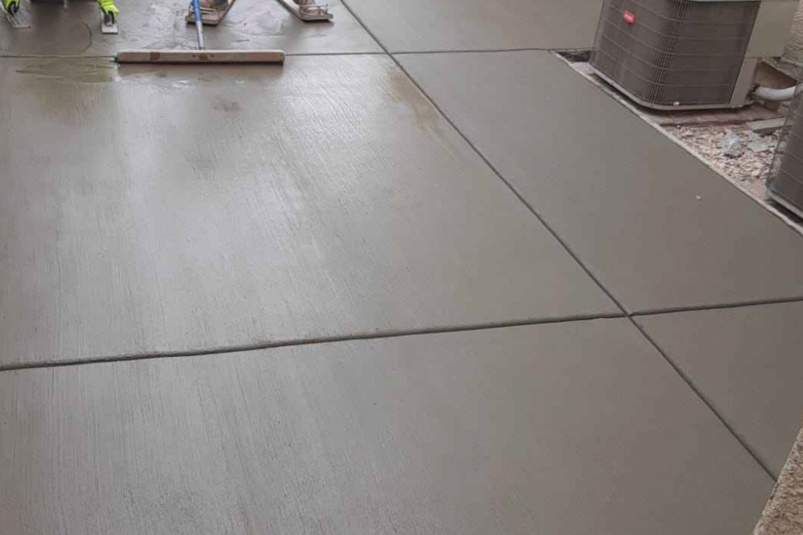 this image shows concrete leveling in Fremont, California