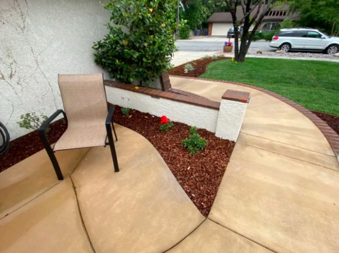 this image shows patios in Fremont, California