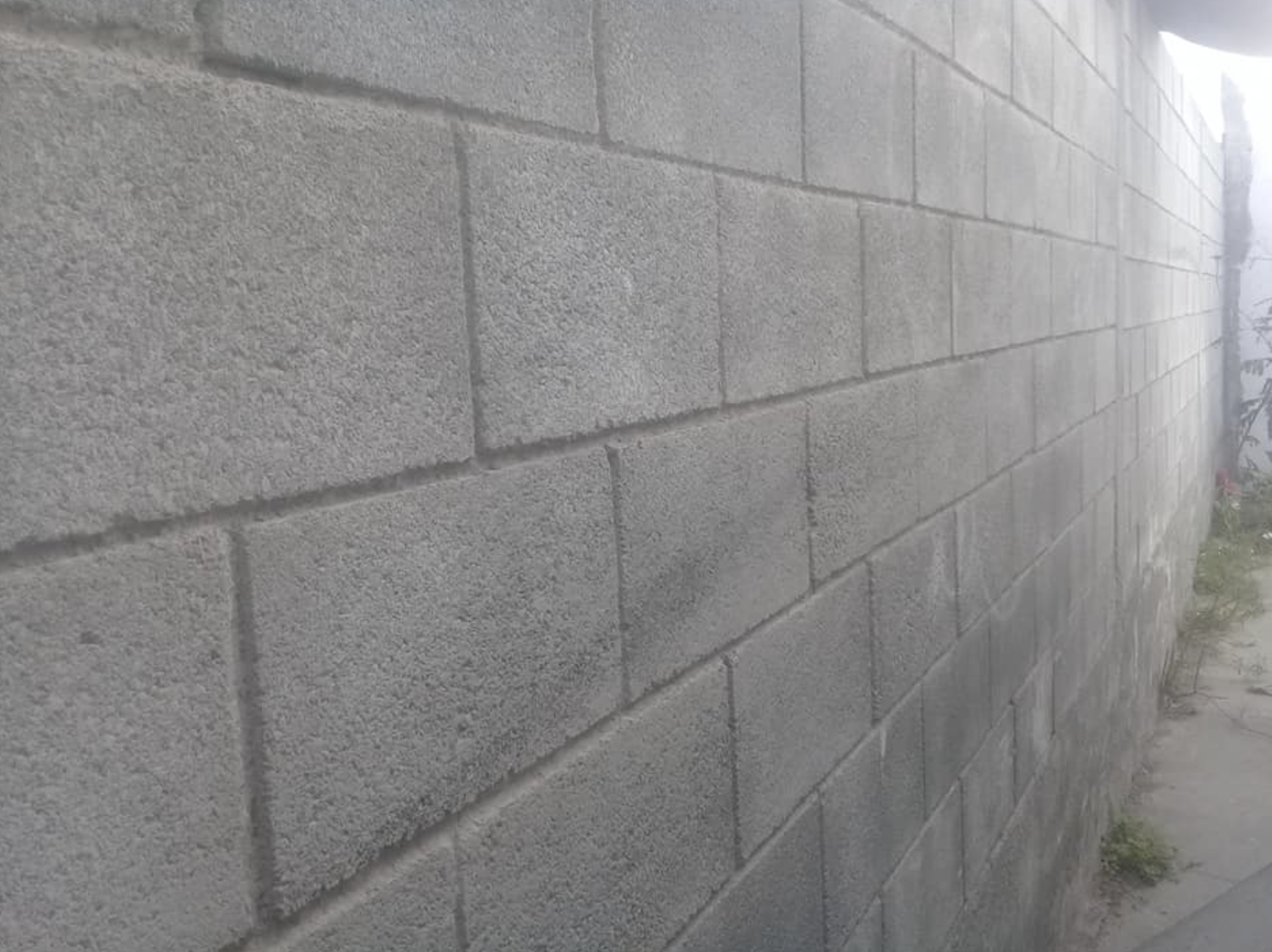 this image shows concrete wall in Fremont, California