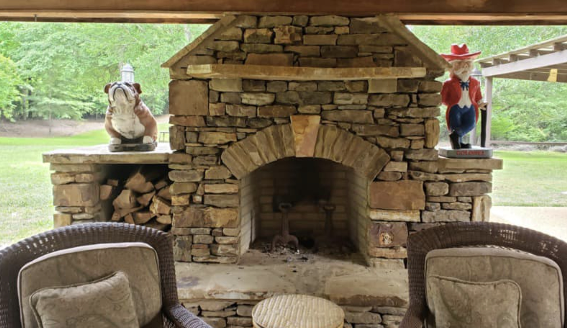 this image shows fireplace in Fremont, California